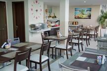 Espaço do restaurante