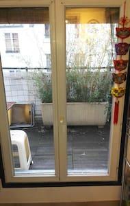 Studio 10m2 avec terrasse 7m2 Bonne nouvelle - Paris