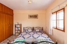 The room is well lit, has plenty of natural air circulation, bug free, private and secluded.