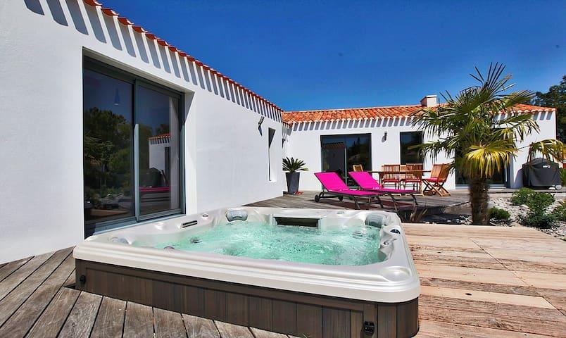 Sublime Villa 6 personnes au Bord de Mer - Saint-Jean-de-Monts - Villa