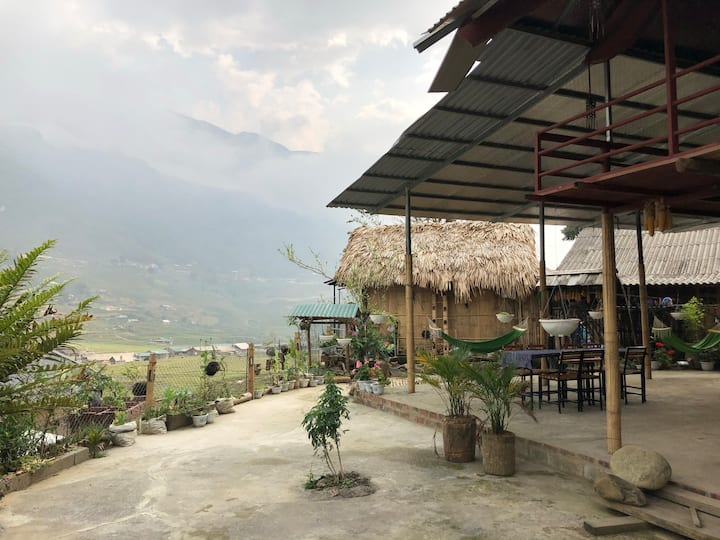 Authentic homestay in traditional Hmong village