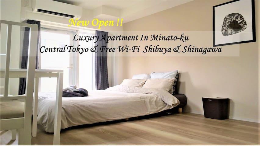 Cozy, sunny & clean room Minato-ku & Shibuya Wifi - Minato-ku - Apartment