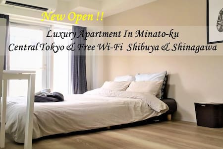 Cozy, sunny & clean room Minato-ku & Shibuya Wi-fi - Minato-ku - Apartemen