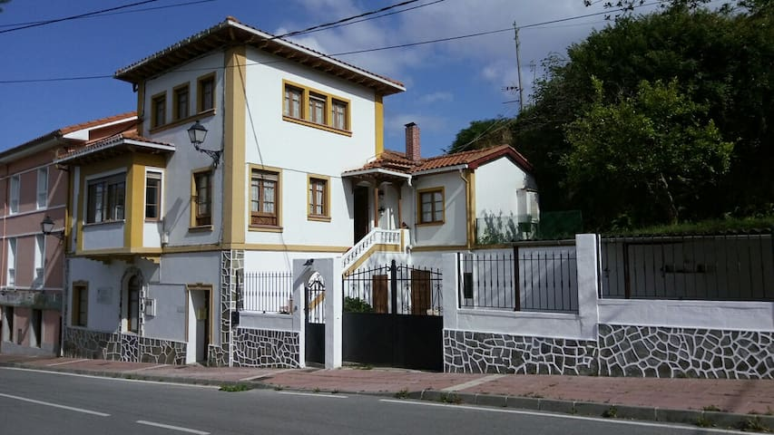 Villa de la Rua - Habitación doble C en Cudillero