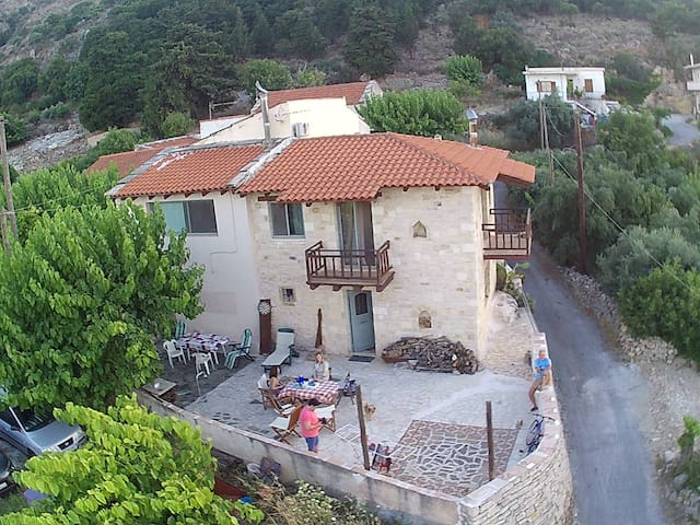 Tzitzifes stone house with great view