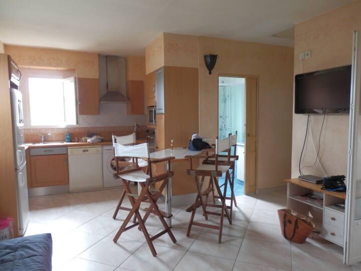 Charmant T2 à Bastia (Biguglia) en rez de villa