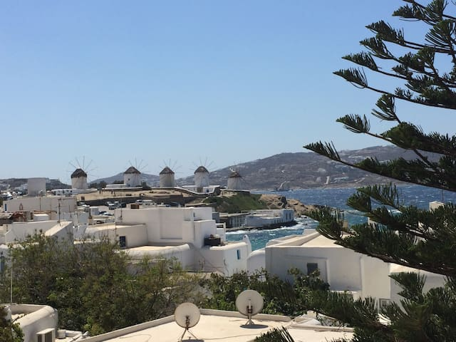House with view over sea/windmills - Mykonos - Casa