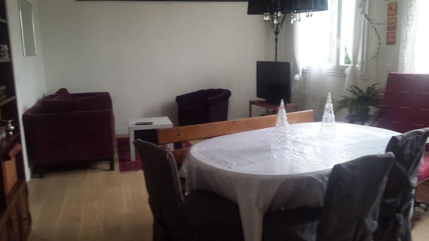 Appart 70 m2 - 2 Ch - 2 sdb - proche PARIS - Alfortville - Appartement
