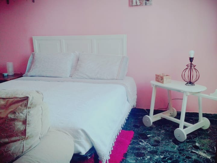 Single or Double  Pink Room