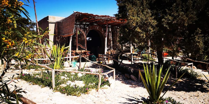 Dar Osho bungalow 4 pers. luxury eco lodge  Ibiza