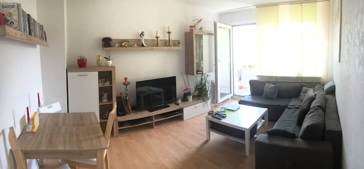 Cozy apartment - good connections- free parking