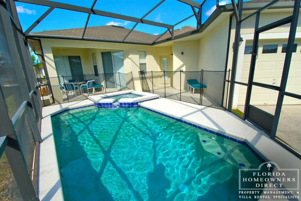 You and your family can enjoy hours of fun in this crystal clear pool and spa - or just sitting on the sun-drenched pool deck alongside.
