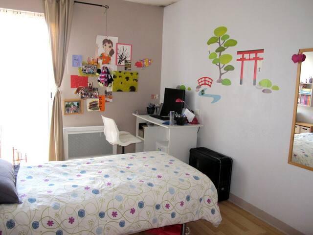 5 mn walk center and harbour, quiet - Vannes - Apartment
