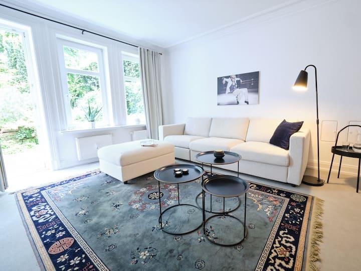 Zwei Zimmer Appartement in Hamburg Harvestehude