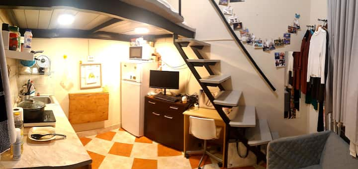 Mini Cosy studio at heart of budapest