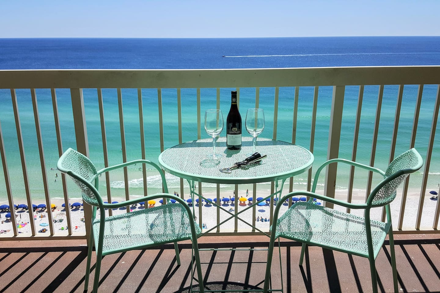 Unobstructed views of the ocean helps you relax and recharge