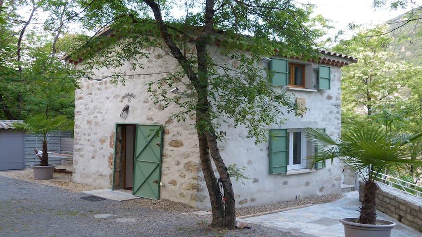 Le Mazet de la Vis - Saint-Laurent-le-Minier - Huis