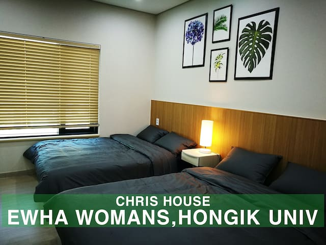 ☆Brand New! Ewha Womans, Hongdae Univ [House]☆