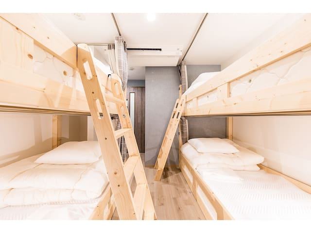 【RiniaHostel-Nagoya】Dormitory Room for 4 people