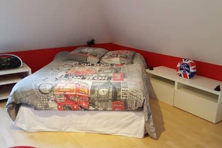 1 Chambre privée de 13 m2 chez l'habitant