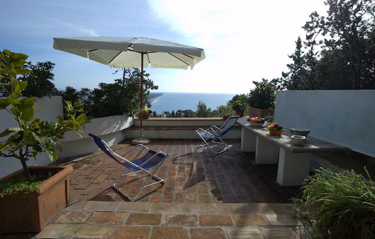 Casa Specchio: wondeful apartment with sea sight - Ansedonia - Appartement