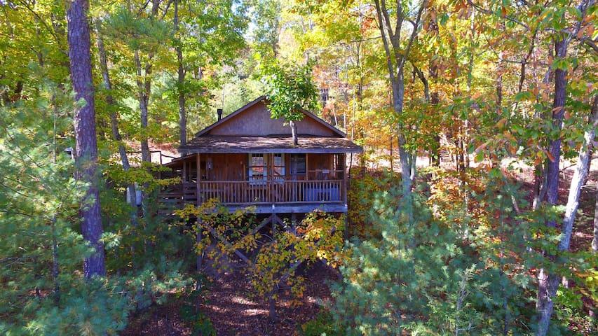 Hot Springs Hideaway, Treehouse Cabin #3