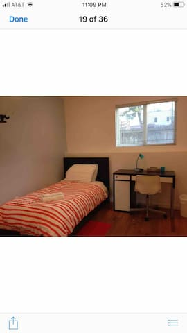 UCSF/golden gate park cozy sunny private room/63bb