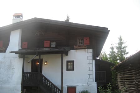 Old charming chalet with sauna next to ski slope - Surcuolm - Byt