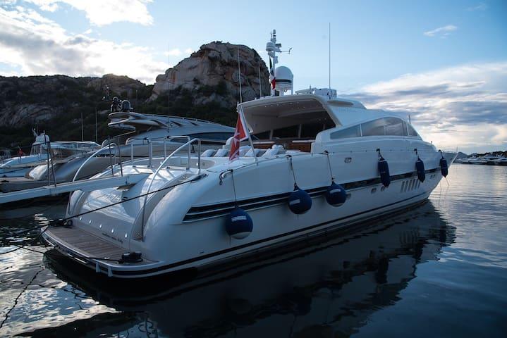 Luxury Yacht DOHA Leopard 27M Bonifacio