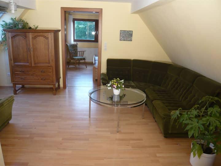 Gesundheitshaus Rittmeyer (Waldeck/Edersee-Dehringhausen) -, Ferienwohnung Nr. 1 Fernblick, 59 qm, 2 Schlafzimmer, max. 4 Personen