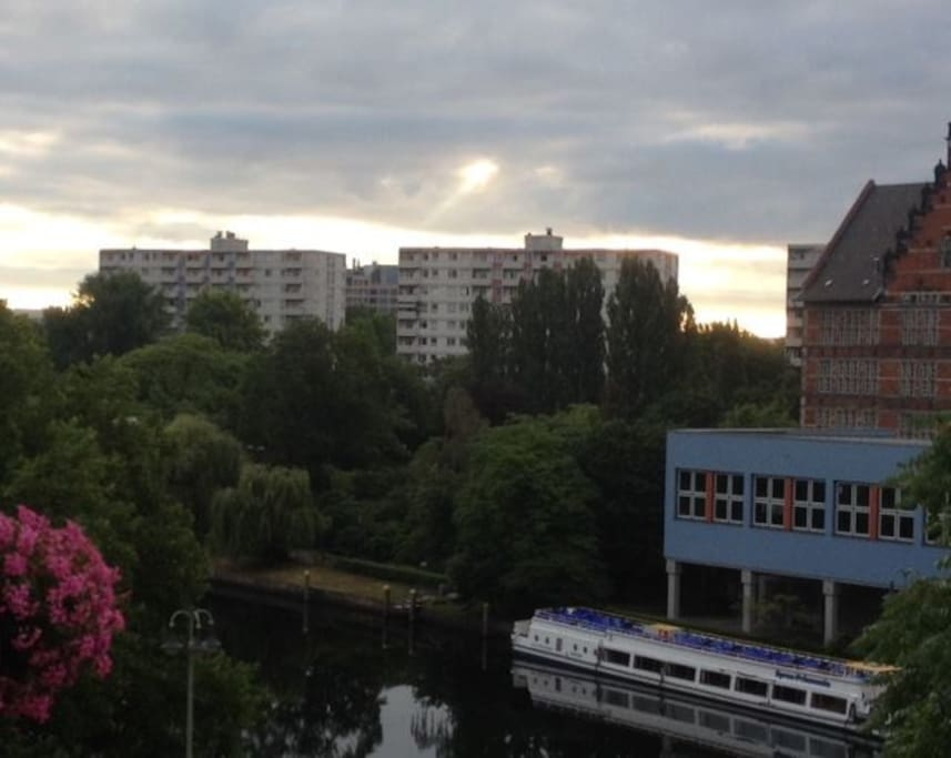 view in summer time