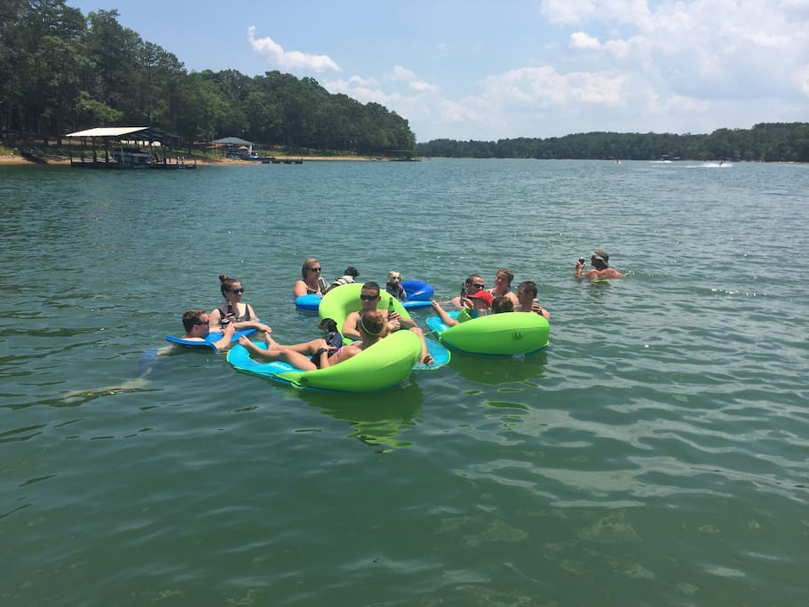 Come float on the water, go fishing or enjoy kayaking.