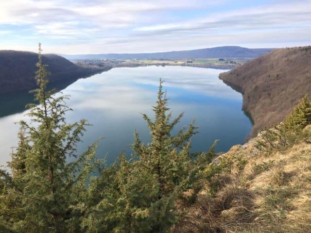 Gîte sympa proche du Lac de Chalain