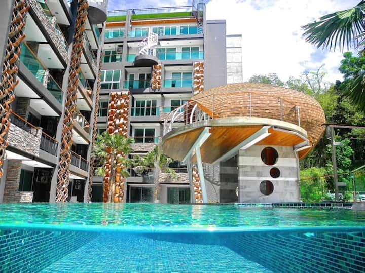 City View Apartment close to Patong Beach