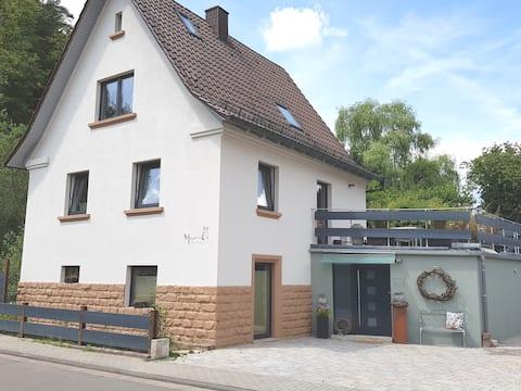 Meyers Ferienhaus mit Sauna Hinterweidenthal /Dahn