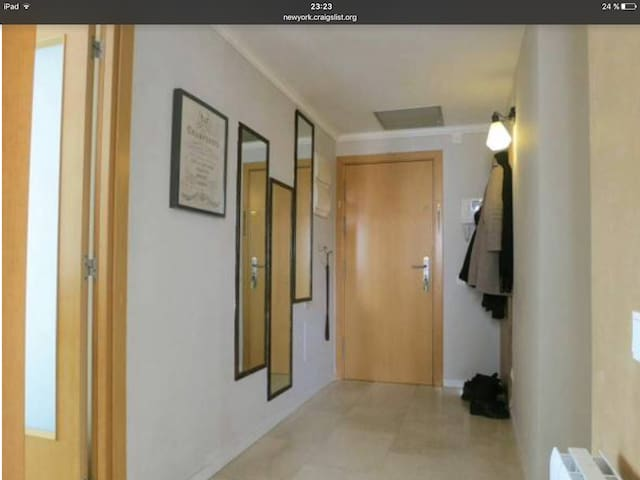 Great location near center, impeccably clean rooms - L'Hospitalet de Llobregat - Apartament