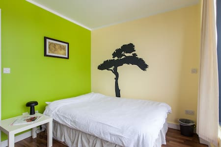 Double Bed&Private Bathroom&Balcony&Dublin Centre - Dublin - Apartment