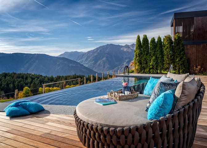 Bergvillen - Luxusvilla mit privatem Pool