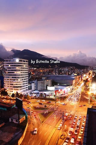 Entire LOFT@3min to Carolina Prk - Quito - Pis