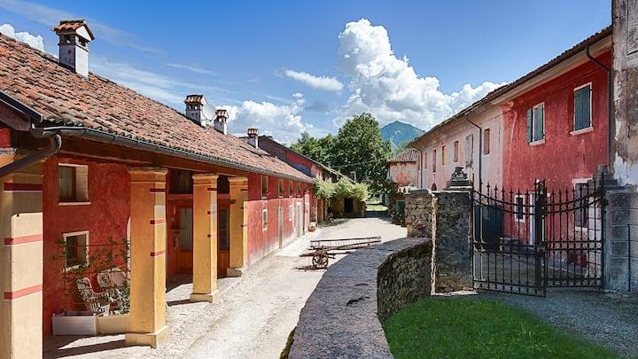 Gusela - appartamento in borgo rurale