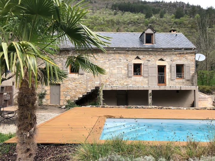 Beautiful holiday home in the Gorges du Tarn.