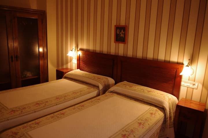 Habitación doble en Hotel La Jara