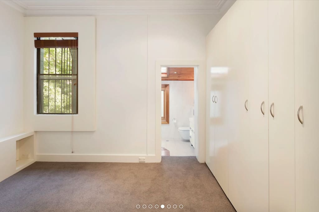 Master Bedroom with luxury ensuite. Closet space provided.