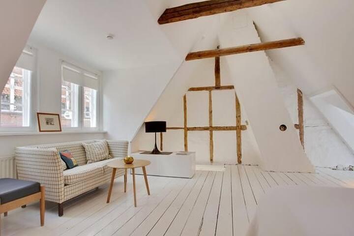 Stue. 1. sal Livingroom. 1. floor