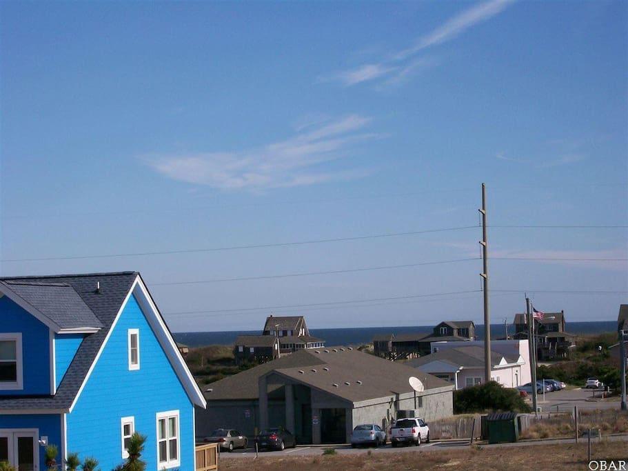 Ocean view from front decks