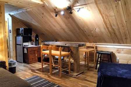 Hay Loft - New Knotty Pine Studio