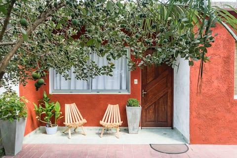 ⭐ Casa familiar, barrio tranquilo ideal descanso✔︎
