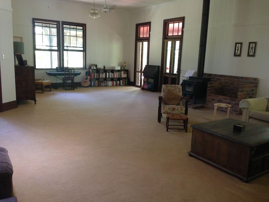 Huge Lounge Room