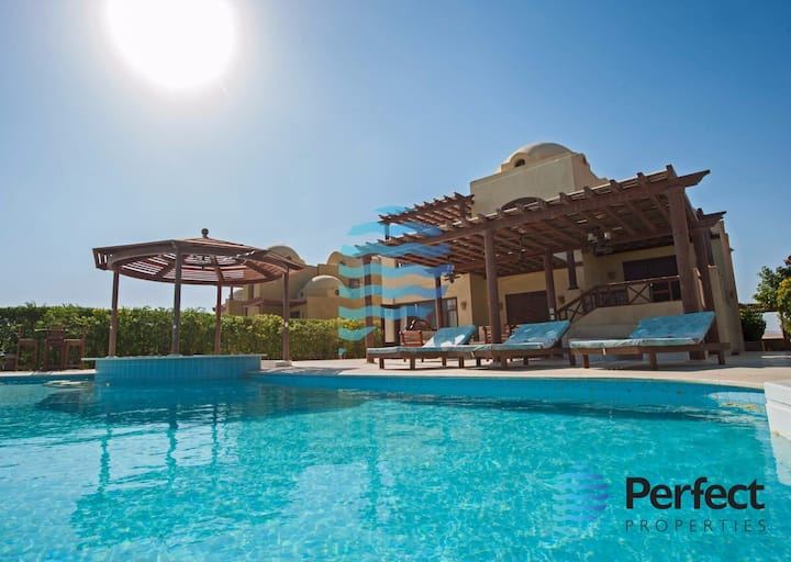 Family Vibe Villa in El Gouna Heated Private Pool