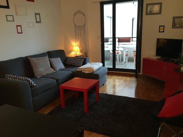 Apartment near the Parc des Princes - Boulogne-Billancourt - Apto. en complejo residencial